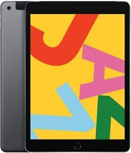 Apple iPad 8th Generation 128GB, Wi-Fi +Cellular 10.2 inch - Space Grey 2020 New