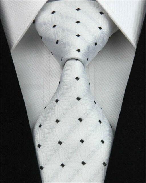 Blue Pink Silk Tie Plaids Checks Mens Necktie Set Hanky Cufflinks Wedding C-660