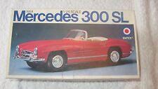 1:24 SCALA 1959 MERCEDES 300 SL in plastica per auto kit modello Entex 59