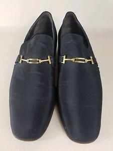 Svizzera Scarpe nero uomo da Bally oro Slip 8 primi Continentals vintage Uk 5 rOPxZqr8w