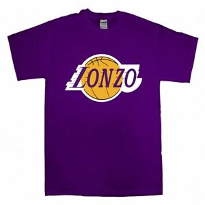 Lonzo ball los angeles lakers logo jersey t shirt shirt or long image is loading lonzo ball los angeles lakers 034 logo 034 voltagebd Images