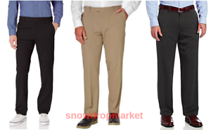 NWT-IZOD-Men-039-s-Performance-Stretch-Straight-Fit-Flat-Front-Chino-Pant-Variety