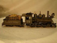 On30 Logging Locomotive - 2 - 6 - 0 - handcrafted - custom weathered - lot 18