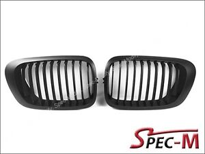 Black-Front-Kidney-Grille-for-BMW-E46-1998-2002-Coupe-Pre-Facelift-Model-Only