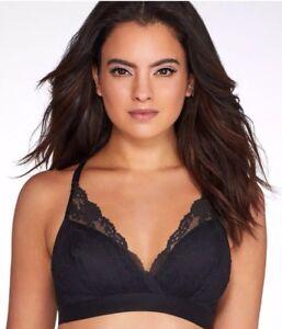 62e869777 Image is loading Chantelle-6721-Everyday-Lace-Racerback-Wirefree-Bra-Black-
