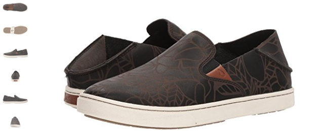 865993fe07b6 Olukai Pehuea Lau Black Black Leather Loafer Shoe Women s sizes 6-11 NEW