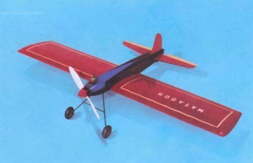 Aeronaut Matador Control Line Volo Modello Kit (Kit-To-Build) 1503