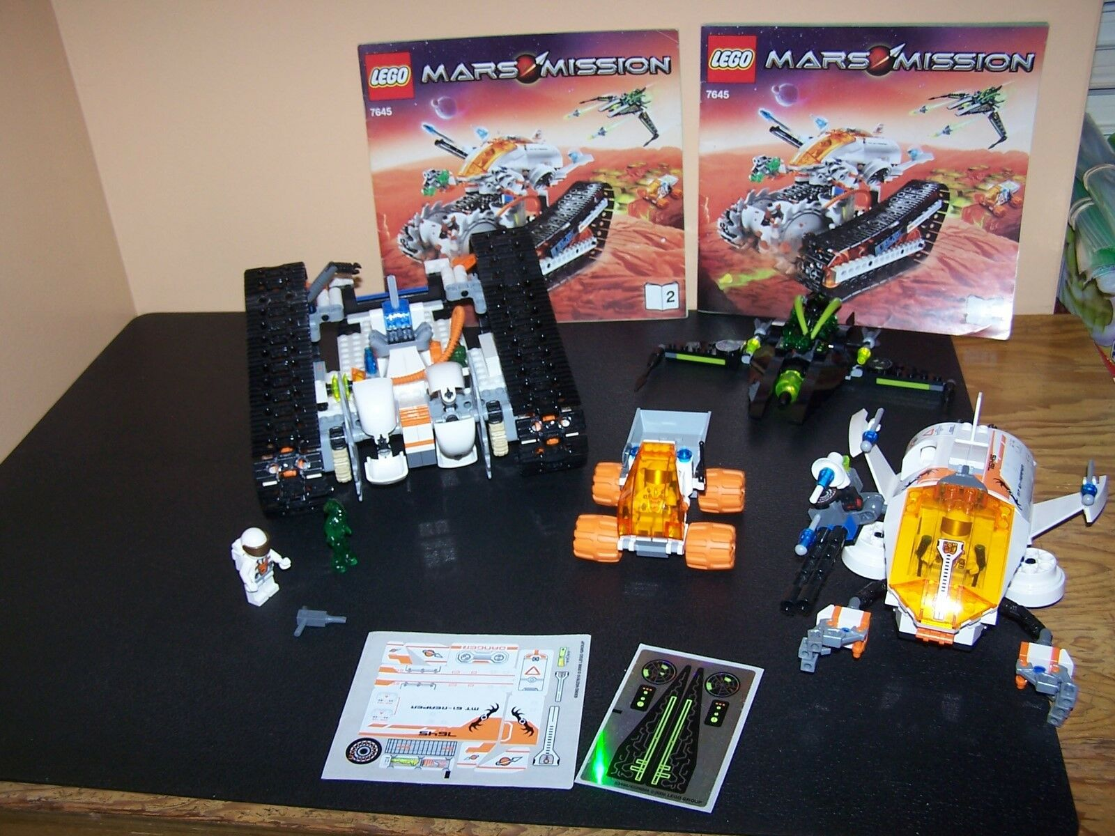 Lego Space Mars Mission MT -61 Crystal Reaper (7645)