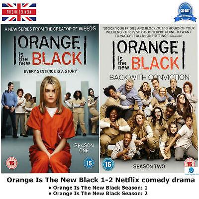Orange Is The New Black Season 1-2 Netflix comedy drama with 26 episodes  New DVD 640901191287   eBay