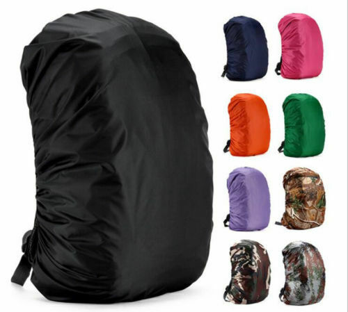 US Waterproof Dust Rain Cover Hiking Travel Backpack Camping Rucksack Bag 35-55L