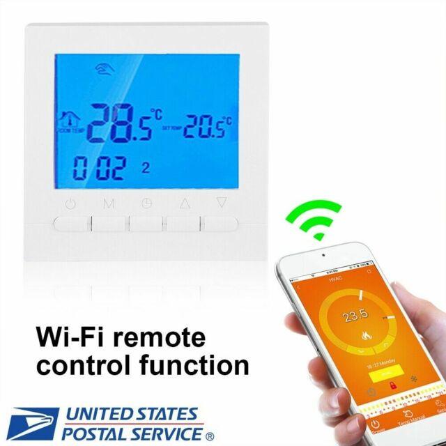 LCD Display Wireless Smart Programmable Temperature Regulator Heating Thermostat