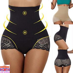 5366a9f326871 UK Women High Waist Shapewear Body Shaper Slimming Tummy Control ...