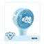 miniature 11 - BTS BT21 Mini Hand Fan Line Friends Official Portable Baby Handheld Personal