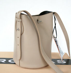 Image Is Loading Rochas Paris 1548 Tan Leather Bel Air Round