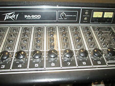 PEAVEY PA 900 POWERMIXER - fresh out of DR. FRANKENSTEIN'S LAB