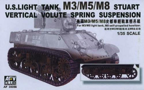 Afv Club 35056-1//35 US M3//M5//M8 Vvss Supension Neu
