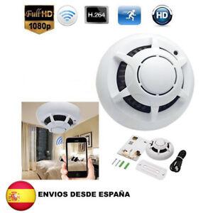 Camara-espia-oculta-en-detector-de-humo-Wi-Fi-camera-smoke-detector