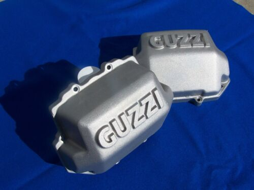 Moto Guzzi Custom VALVE COVERS Big Blocks Square Fin Heads 1100