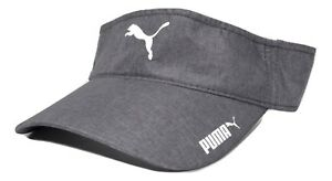 Image is loading PUMA -Reflective-Logo-Lightweight-Polyester-Adjustable-Gray-Golf- 144c57c91c9