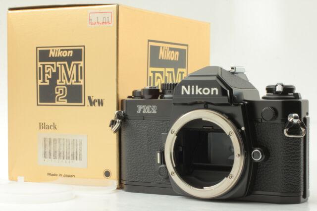[UNUSED in BOX S/N 771XXXX] NIKON FM2 New FM2N Black SLR Film CAMERA From JAPAN