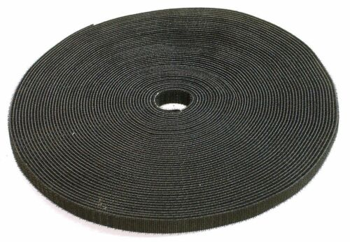 """1//2/"""" Roll Hook and Loop Reusable Cable Ties Wraps /& Straps 5M 15ft"""