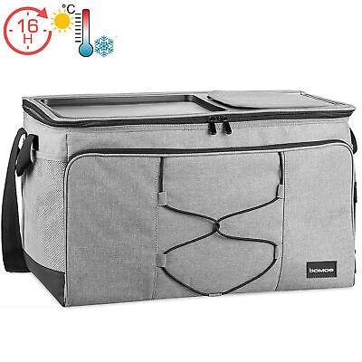 Kühltasche Kühlbox Camping Picknicktasche Isoliertasche Picknick Isotasche grau
