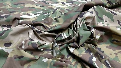 """SPL SEE DETAILS SAMPLES MULTICAM CAMOUFLAGE OUTDOOR MILITARY 60"""" FABRIC"""