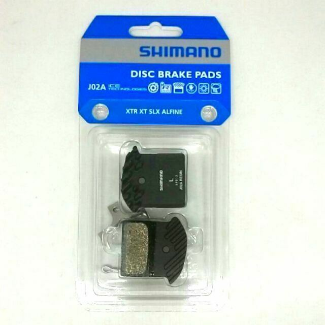 XT 2 Pairs Shimano J02A Resin Disc Brake Pads for XTR SLX and Alfineg