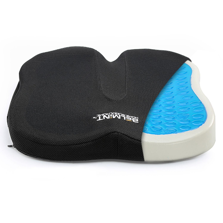 Seat Cushion Gel Pillow Coccyx Orthopedic Memory Foam