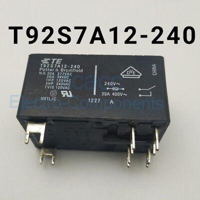 T92S7A22-240 relais de puissance 30 A 240VAC 6 broches x 2pcs