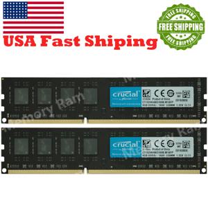 16GB KIT 2X8GB 12800U DDR3-1600MHZ CL11 1.35V U-DIMM Desktop Memory RAM