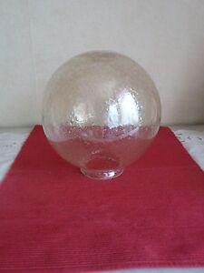 Vintage globe à griffe en opaline lampe art déco, art nouveau, ou lustre  505009