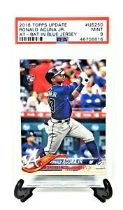 2018-Topps-Update-US250-RC-Braves-Star-RONALD-ACUNA-JR-Rookie-Card-PSA-9-MINT