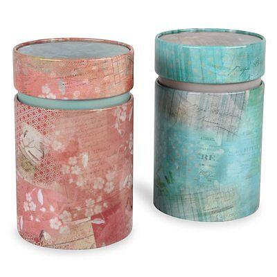 Teedosen Vintage rund 150g (2er Set)