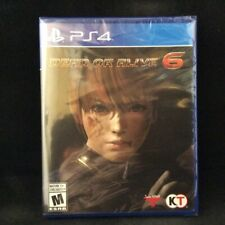 Dead or Alive 6: Core Fight -- Standard Edition (Sony PlayStation 4, 2019)