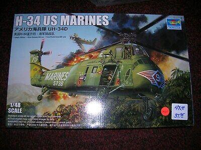 H-34 US Marines 1//48 Trumpeter