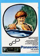 QUATTROR982-PUBBLICITA'/ADVERTISING-1982- PANASONIC CAR AUDIO  (versione B)