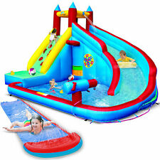 Jump 4 Fun Water Slide Jumping Castle Pool with Velcro dart game and water gun