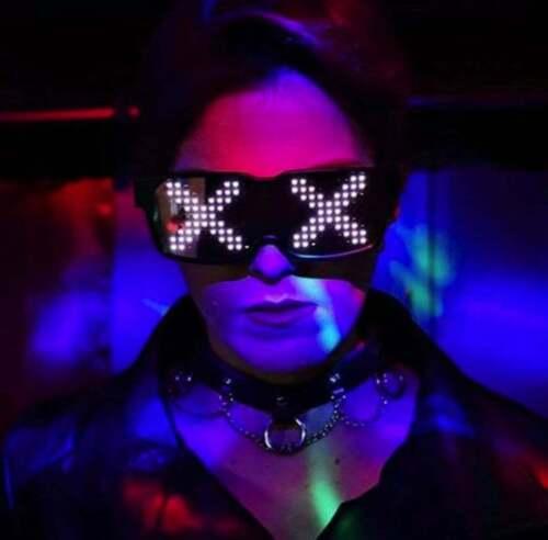 Programmable LED Glow Glasses