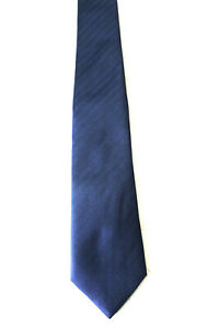 2019 Neuestes Design Canda Krawatte Schlips Tie Dunkelblau Fein Gestreift (g2/80) Weich Und Leicht