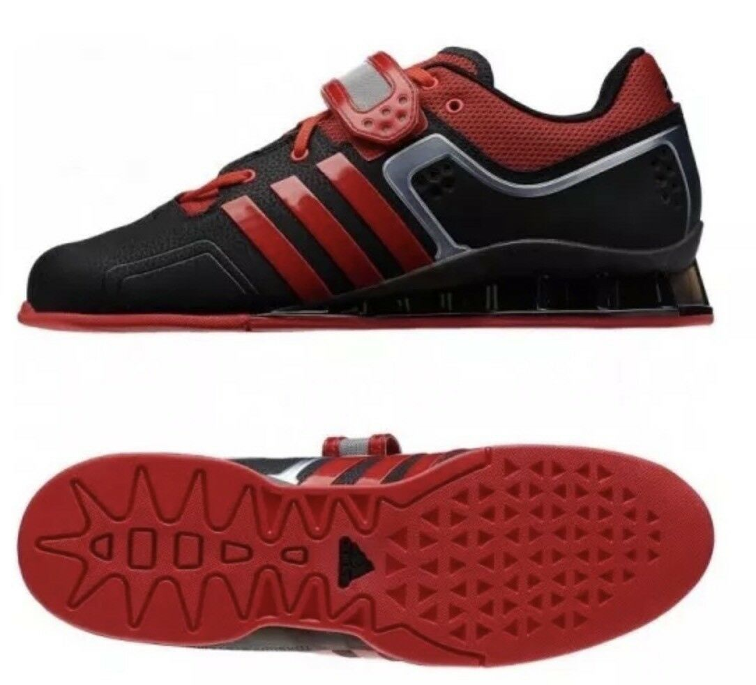 Adidas NEW Adipower Weightlift M21865 Men's shoes Sz 15. Red  Black