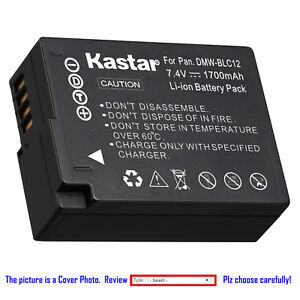 Kastar-Replacement-Battery-for-Panasonic-DMW-BLC12-amp-Panasonic-Lumix-DMC-G7