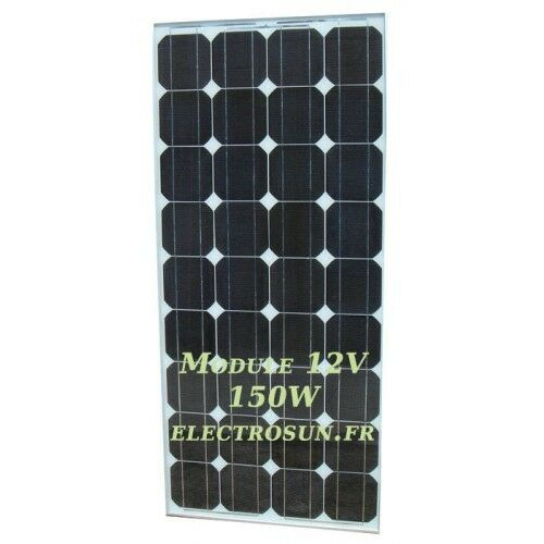 Panneau solaire monocristallin 12V 150W photovoltaïque camping-car camping-car camping-car 269db7