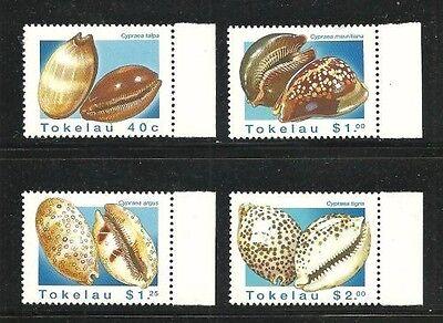 Briefmarken Tokelau Begeistert Album Schätze Tokelau Inseln Scott #232-235 Muscheln Neuwertig Nh Taille Und Sehnen StäRken