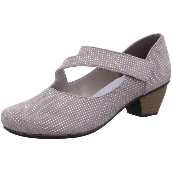 Rieker Antistress Damen Schuhe Slipper Halbschuh Pumps 41793-42 grau Leder