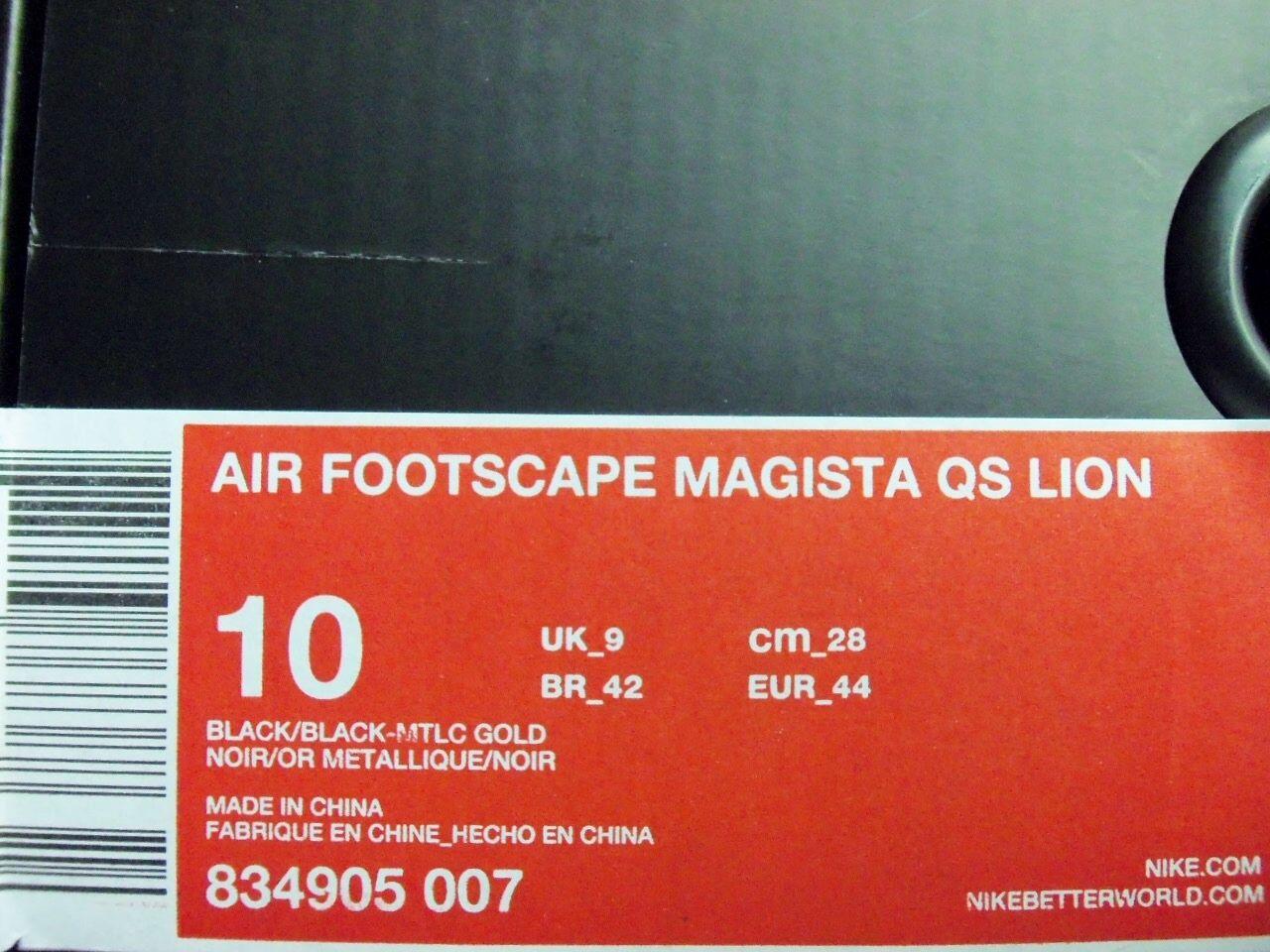 nike air größe footscape magista qs - löwe olivier rousteing größe air männer - 10 f1444d