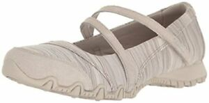 Skechers-Womens-Bikers-Ripples-Mary-Jane-Flat-Select-SZ-Color