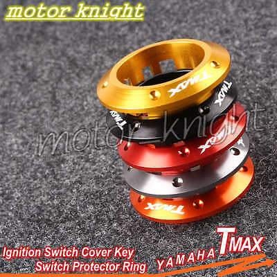 Ignition Switch Cover Key Switch Protector Ring fit Yamaha TMAX 530 2013-2015