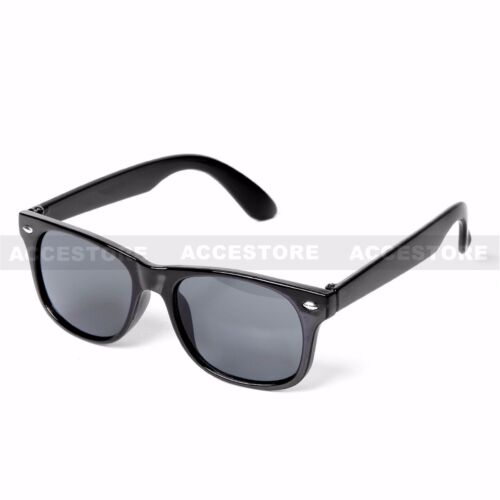 Kid/'s Fashion Sunglasses UV 400 Boy/'s Girl/'s Children Eyewear Black Dark Lens