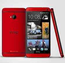 "4.7"" Rojo HTC One M7 Desbloqueado Teléfono Móvil - 3G 32GB 4.0MP Quad-Core Android OS"